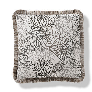 Tossed Coral Indoor/Outdoor Pillow