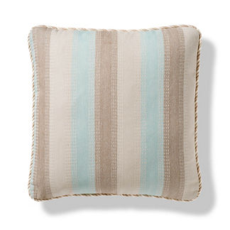 Stitched Stripe Outdoor Pillow