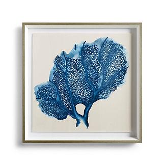 Blue Coral Giclee Print III