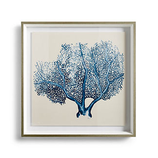 Blue Coral Giclee Print I