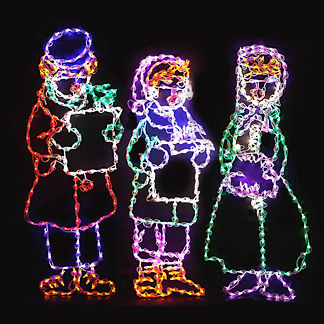 LED Carolers, Set of Three