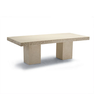 Faux Stone Dining Table Cover