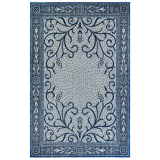 Carmel Mosaic Tile Indoor/Outdoor Rug
