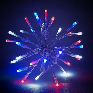 LED Patriotic Sparkler