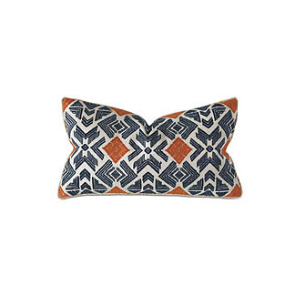 Lodi Embroidered Decorative Pillow by Eastern Accents