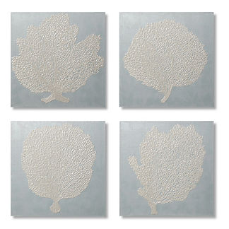 Sea Fan Giclee Print, Set of 4