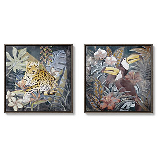 Jozani Forest Giclee Print, Set of Two