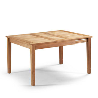 Small Cassara Teak Expandable Table Tailored Furniture Cover