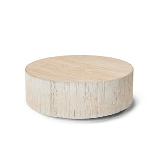Barrel Wood Coffee Table Tailored Furniture Cover