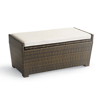 Wicker Storage Bench Tailored Furniture Cover
