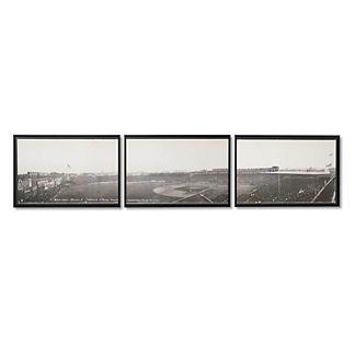 Fenway Park Giclee Triptych