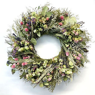 Sweet Annie Eucalyptus Mixed Wreath