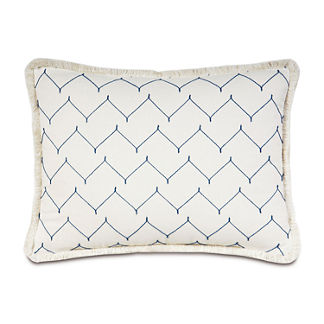 Coral Cabana Chevron Sham by Eastern Accents