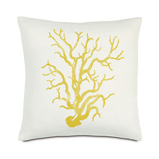 Coral Cabana Decorative Pillow by Eastern Accents