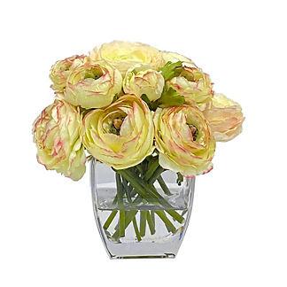 Ranunculus in Square Vase
