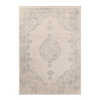 Martine Medallion Wool Area Rug