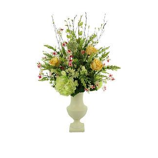 Spring Floral Budding Blossoms Arrangement