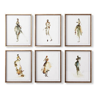 Mademoiselle Fashion Giclee Prints
