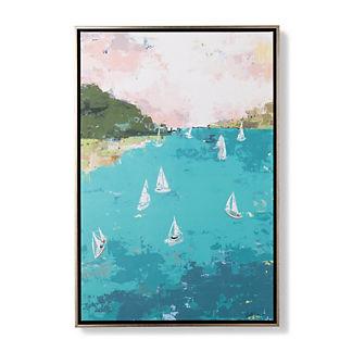 Palma Sailboats Giclee Print