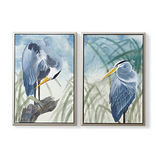 Perched Egret Giclee Prints