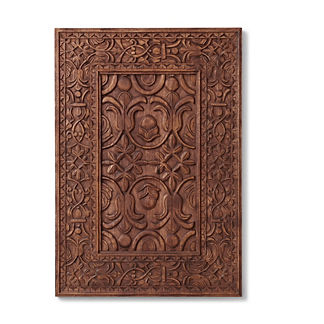 Alhambra Carved Wood Wall Panel