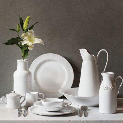 & Vietri Bianco Dinnerware   Frontgate