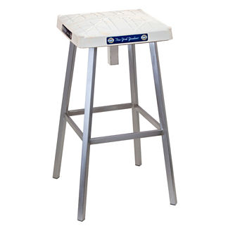 MLB Authenticated Game-used Base Bar Stool