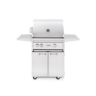 Lynx 27-inch Freestanding Grill with ProSear Burner, Brass Burner, and Rotisserie