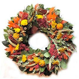 Southern Fall Wreath