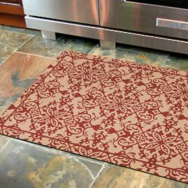 French Scroll Comfort Mat