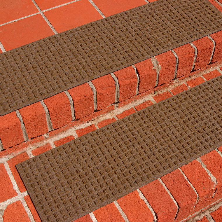Water and Dirt Shield  Stair Tread Mats, Set of Four