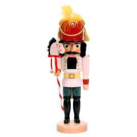Toy Soldier with Stick Horse Nutcracker