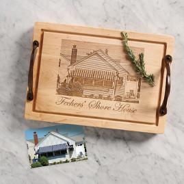Personalized Photograph Cutting Board
