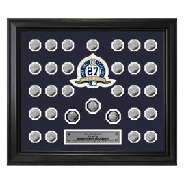New York Yankees World Series Framed Coins
