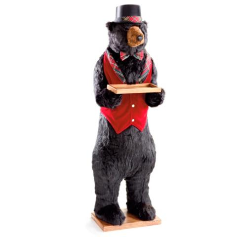 Butler Bear with Red Plaid Vest  sc 1 st  Frontgate & Butler Bear with Red Plaid Vest | Frontgate