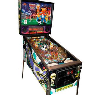Refurbished World Cup Pinball Machine