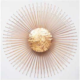Golden Sunburst Wall Art