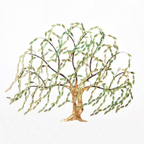 Springtime Willow Tree Wall Art