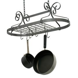 Enclume Scrolled Oval Pot Rack