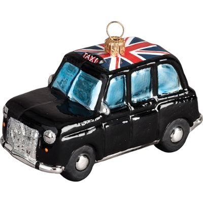 London Taxi Cab Ornament Frontgate