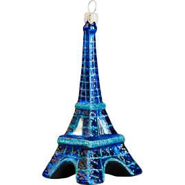 Eiffel Tower At Night Ornament