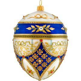 Glitterazzi Regal Jeweled Egg Ornament