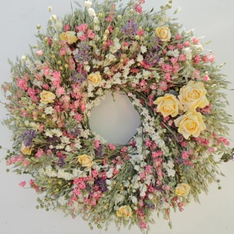 Wonderful Spring Garden Wreath