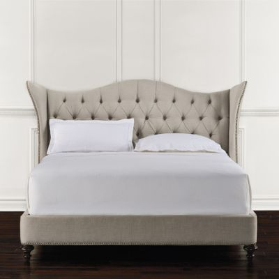 Kendall Tufted Upholstered Bed Frontgate