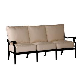 Oxford Sofa with Two Pillows and Cushions by