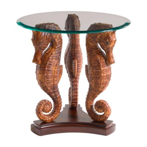 Tommy Bahama Sea Horse Lamp Table