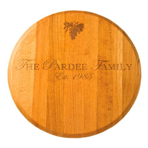 oak lazy susan