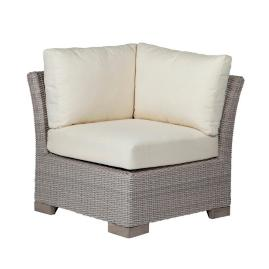 Club Woven Corner Chair with Cushions by Summer