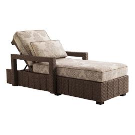 Tommy Bahama Blue Olive Chaise Lounge