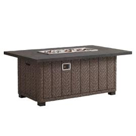 Tommy Bahama Blue Olive Gas Fire Pit